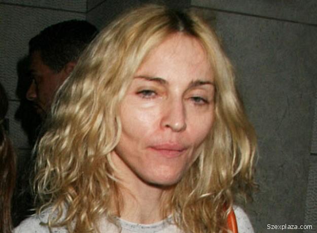 Madonna smink nélkül