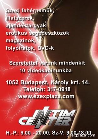 Intim Center, Bp. Károly krt. 14 – nyitva minden nap
