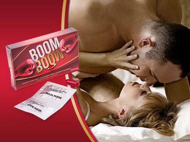 A Boom Boom potencianövelőt már 5 éve árulja az Intim Center
